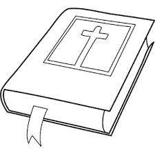Holy Bible Coloring Sheet