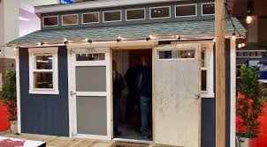 Tuff Shed Barn House by 10 Tiny Homes Cabins And Sheds At The Seattle Home Show Curbed