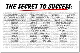 The Secret To Success TRY Classroom Motivational Poster Details Can Be Found By Clicking