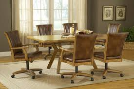 High Quality Dining Room Chairs On Wheels — Jowilfried ...