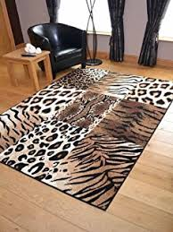 Modern Rug Animal Print Out Africa Seren ti Leopard