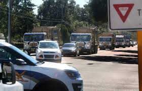 100 Family Trucks And City Mourn Loss Of Ben Shirley 48year St Petersburg
