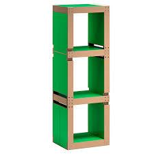le bureau verte etagère de bureau design verte structure ou bois kollori com
