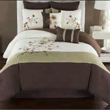 Hudson Park Bedding by Camisha Comforter Set In Green Chocolate Bed Bath U0026 Beyond