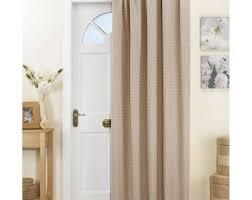 curtains door curtain ideas pinterest thermal lined door