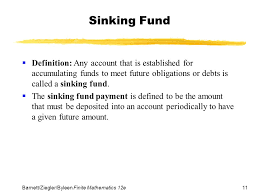 sinking fund meaning sinks ideas