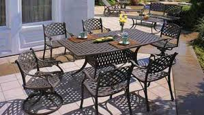 Gensun Patio Furniture Florence by Cast Patio Furniture Home Design Ideas And Pictures