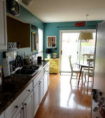 Teal Green Kitchen Cabinets by Kitchen Wall Color Select U2013 70 Ideas How You A Homely Kitchen