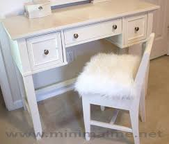 Upcycled Vanity Chair