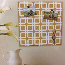board dudes 14x14 inches grain cork board white pattern
