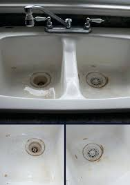 how to clean ceramic sinks in kitchen second floor