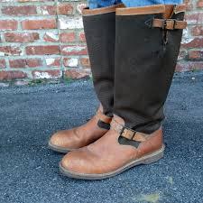 distressed snake proof chippewa boots u2014 savantvintage