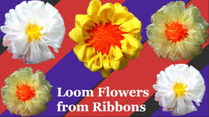 Loom Flower With Handmade Maker Step By