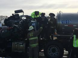 100 Tidewater Trucking Transit Truck Involved In Wreck On I95 South Carolina