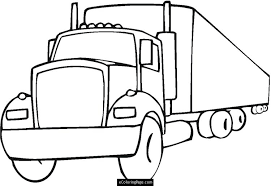 Luxury Semi Truck Coloring Pages 57 With Additional Free Book