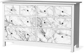 creatisto klebe folie möbel passend für ikea hemnes kommode 8 schubladen i möbelfolie möbel folie sticker i schöner wohnen für schlafzimmer