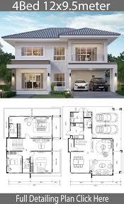 104 Contemporary Modern Floor Plans Home Design