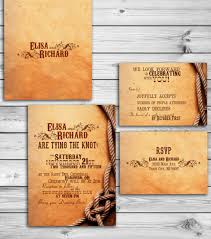 Barn Western Country Wedding Invitation PSD Format