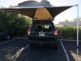Installed Rhino Rack Dome 1300 Awning, Assist From GZila Designs ... Rhinorack 31117 Foxwing 21 Eco Car Awning Mounting Brackets Pioneer And Bracket Rhino Rack Awnings Extension Side Wall Roof Vehicle Adventure Ready Cascade Sunseeker 65 Foot Bend Base Tent 2500 32119 32125 Dome 1300 Autoaccsoriesgaragecom Amazoncom Sports Outdoors Fox 25m 32105 Canopies And Outdoor