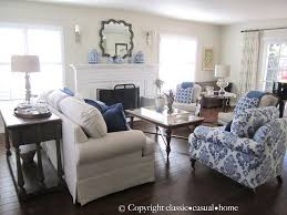 Blue White And Silver Timeless Design Casual Living RoomsBlue Room ChairsCasual