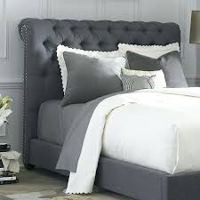 Skyline Button Tufted Headboard by Skyline Furniture Linen Upholstered Headboard Diy By All