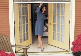 Outswing French Patio Doors by Retractable Door Screens