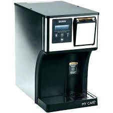 Bunn My Cafe Cleaning How To Clean Coffee Maker A Commercial Dual