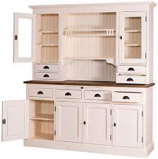 casa padrino landhausstil küchenschrank antik cremefarben braun 179 x 50 x h 197 cm 2 teiliger shabby chic küchenschrank mit 6 türen und 8