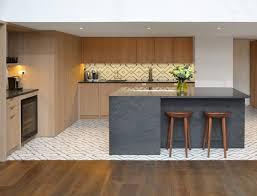 fliesen dielenboden übergang ohne schiene wohnung küche