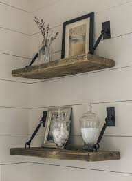 The Master Bath Spa Reveal Rustic Bathroom ShelvesBedroom