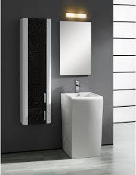 Pedestal Sink Storage Solutions by Bathroom Storage Tower Black U2013 Laptoptablets Us