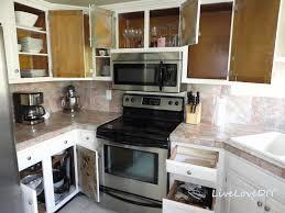 Narrow Kitchen Cabinet Ideas by Livelovediy The Chalkboard Paint Kitchen Cabinet Makeover