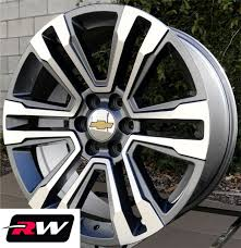 Chevy Silverado Wheels 2017 2018 GMC Yukon Denali 20 Inch Gunmetal ... 2008 Chevy Silverado 2500hd 22 Inch Rims Truckin Magazine Lvadosierracom Any Stealth Gray Metallic Owners Have Fuel D568 Hostage Iii 1pc Wheels Graphite With Matte Black Bead Truck Black Chrome Rims Youtube Fuel Savage D565 Milled Custom Truck Chevrolet And Hd 2017 1500 Z71 Midnight Edition Driven Top Speed Appglecturas Widow Images Midwest Trucks Cars Customizing Moberly Mo Chevy 2500 With Wheels No Limit Inc Fits Gmc Denali Style Tahoe Cadillac