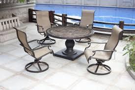 backyard creations murano 5 piece dining patio set at menards