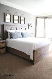 DIY Rustic Modern King Bed Shanty 2 Chic