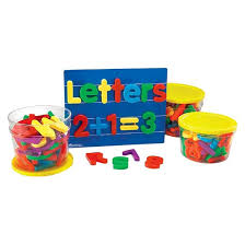 Learning Resources Jumbo Magnetic Letters and Numbers Tar