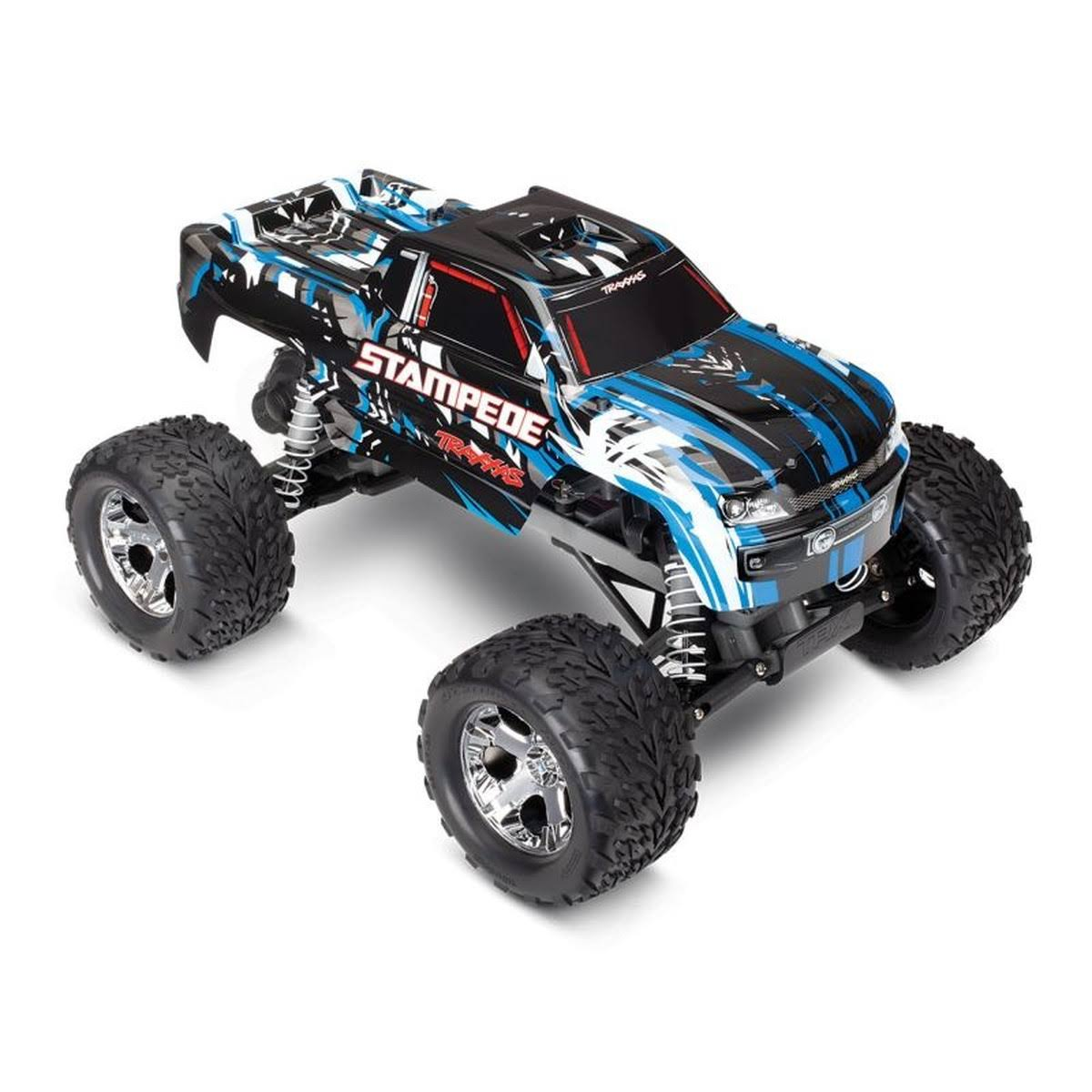 Traxxas 1/10 2WD Stampede Monster Truck RTR, ProGraphix Blue