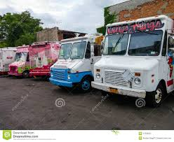 A Row Of Food And Ice Cream Trucks On A Parking Lot In New York ... American Food Trucks United San Diego Lovecoffeenyc Twitter Brooklyn New York May 22 Customers Stock Photo 100 Legal Vablonsky Ecuadorian In Queens Food Trucks Dumbo Brooklyn Ny 59808107 Alamy The Worlds First Truck Drivein Nyc Fim Festival Part Truck Msp365 Vendy Plaza And Openair Marketplace Returns Am New York Twin Cities Hitting Streets Here Are Our Top Picks Newest Classiest On The Block Neapolitan Express Letter Grades Coming To City Carts Abc7nycom