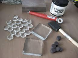 glass tile pebble magnet tutorial