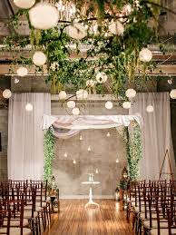 Blend The Aisle Into Ceremony Space By Using Same Inspiration In Your Wedding Arch