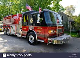 Yellow Firetruck Fire Truck Engine Emergency Vehicle Firefighter ...