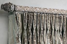 Popular Decorative Curtain Rods Within Serif For Bay Idea 12