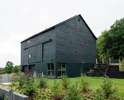 100 Hudson Architects A Passive House And Sauna Tower Join A 19thCentury Barn In The