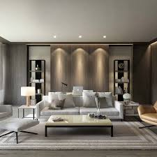 Attractive Contemporary Interior Design Living Room Best 25