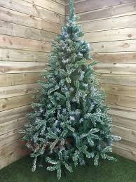 Balsam Christmas Trees Uk by Premier 6ft 180cm Mountain Snow Fir Christmas Tree With 787 Tips