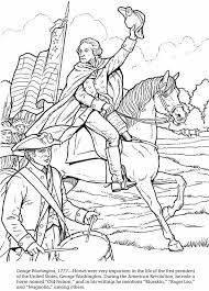 George Washington Coloring Pages Printable Home