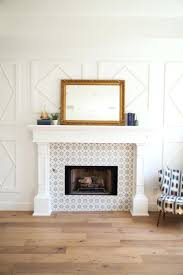 fireplace backsplash tile best fireplace tile surround ideas on