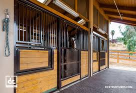 Shed Row Barns Texas by California Horse Barn Kits Dc Structures