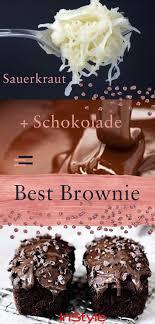 omg es gibt jetzt schokoladen sauerkraut kuchen und der