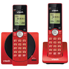 VTech DECT 2-Handset Cordless Phone With Caller ID (CS6919-26 ...